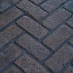 Old Chicago Herringbone Brick