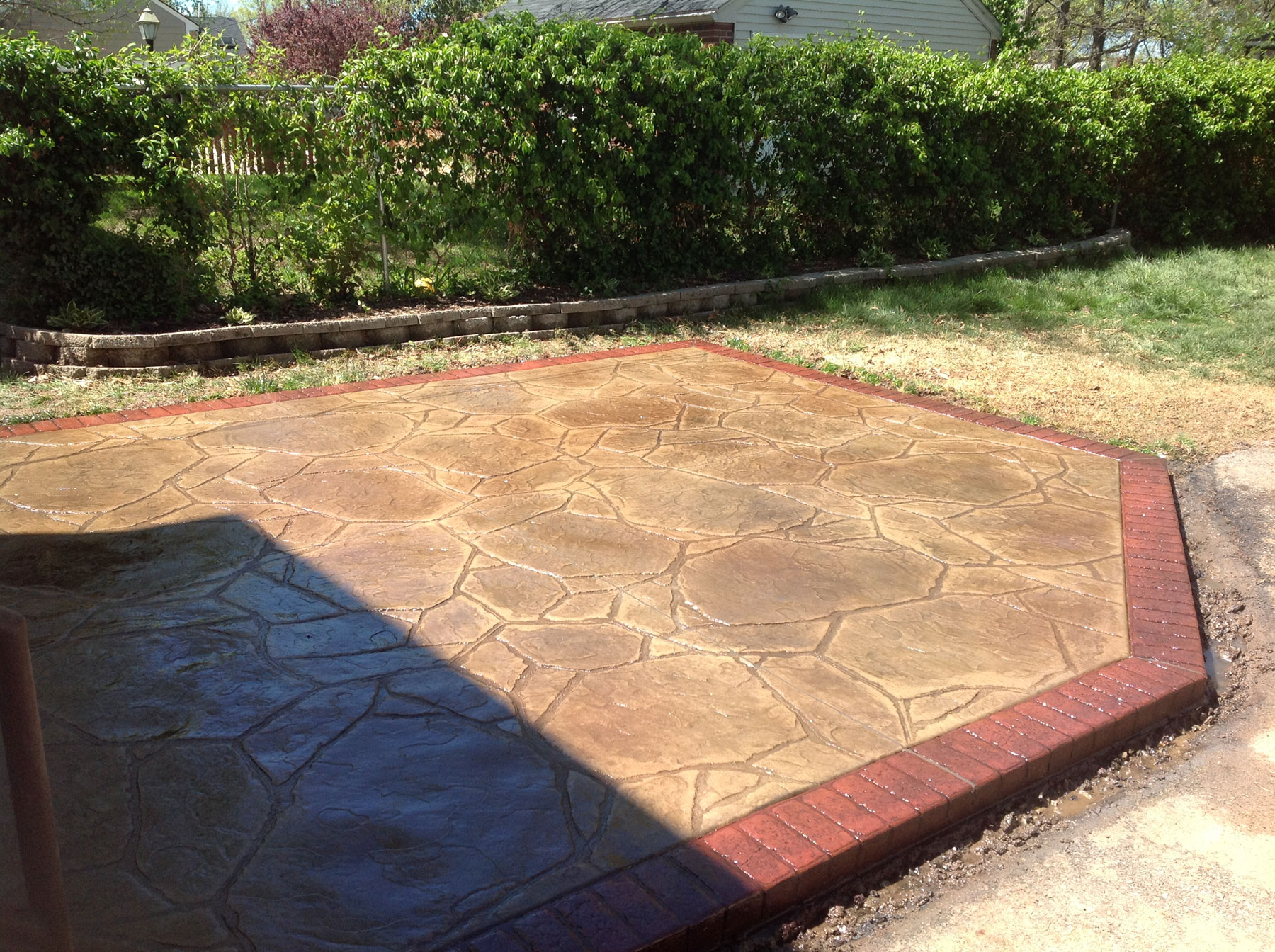 Flagstone Stamped Concrete : Flagstone stamped concrete pictures dr dan u s